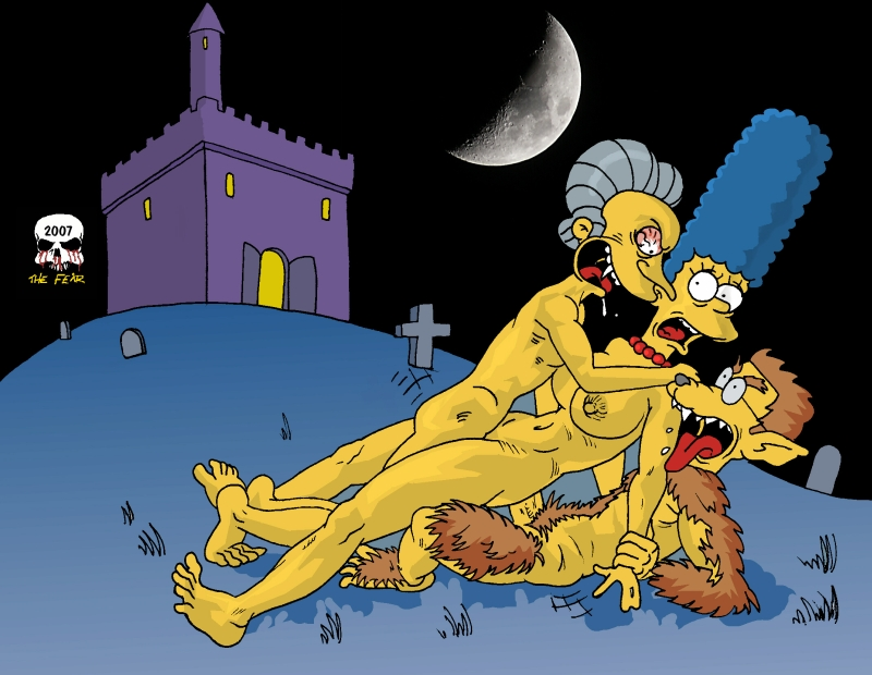 the paheal simpsons Flip the frog and clarisse the cat