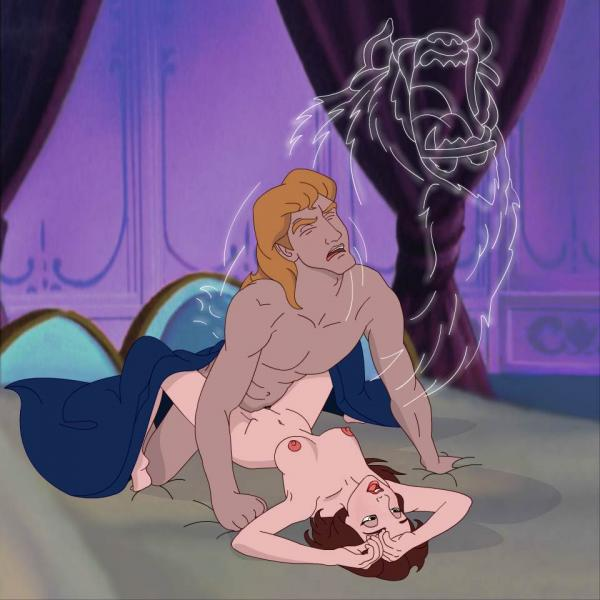 the beauty beast and angelique Little witch academia