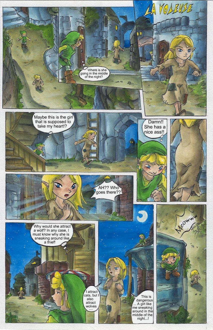 link nude of zelda legend Daily life with a monster girl tionishia
