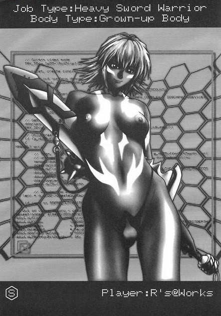macha .hack//sign Attack of the pollinic girls