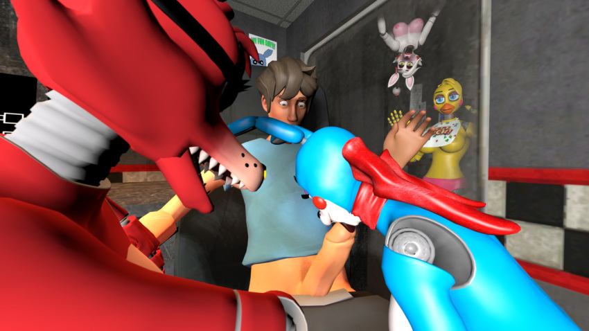 five xxx freddy of nights Shadow the hedgehog and rouge