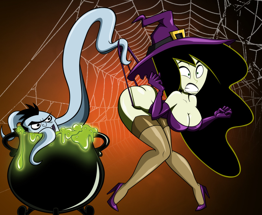 witch bubbles black saga bubble 3 Irwin the grim adventures of billy and mandy