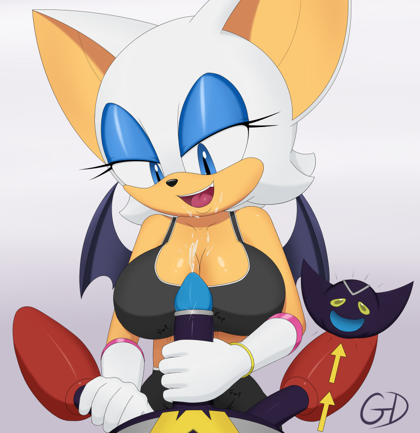 huge bat tits the rouge Sonic the werehog and chip